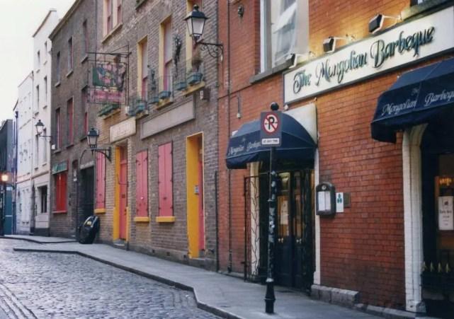 グラフトン通り、ダブリンの町 【アイルランド】
