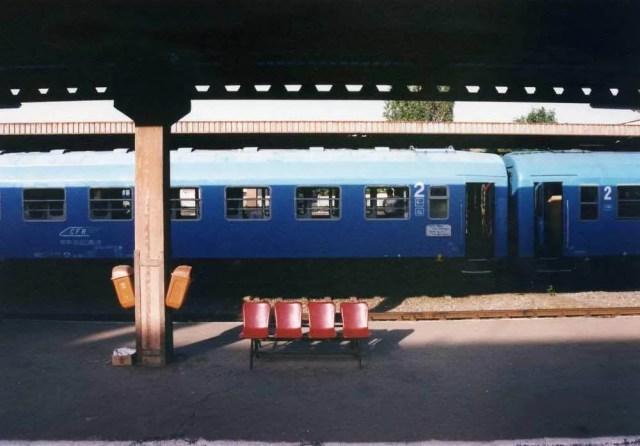 ルーマニア北西部、オラデアの駅 【ルーマニア】