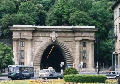 ブダペストのトンネル【ハンガリー】