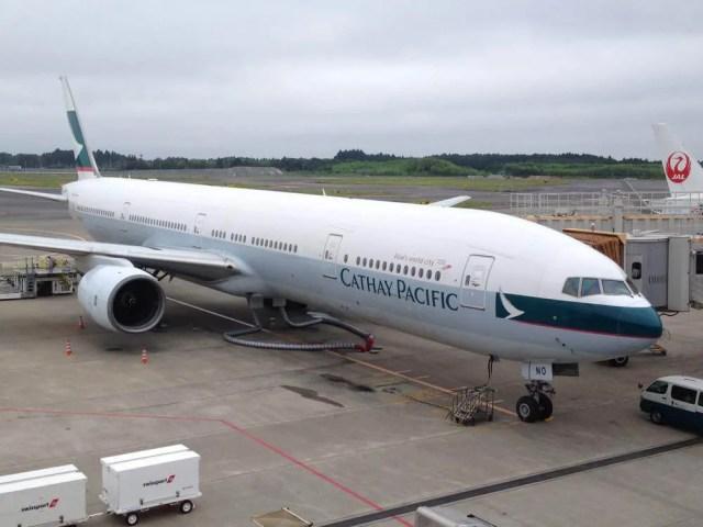 成田空港 キャセイパシフィックで香港へ【スリランカ】