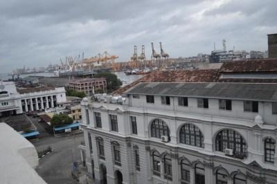 コロンボのホテル、グランドオリエンタルホテルからの風景【スリランカ】
