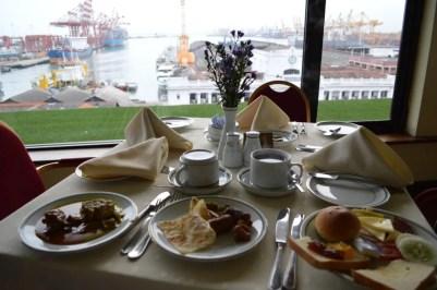 コロンボのホテル、グランドオリエンタルホテルの朝食【スリランカ】