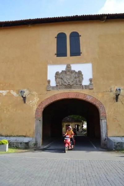 世界遺産、ゴール旧市街の風景【スリランカ】