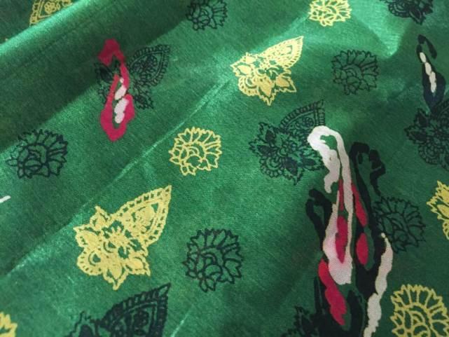 インドのサリー布【雑貨】