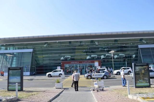トビリシの空港【ジョージア(グルジア)Georgia:საქართველო】