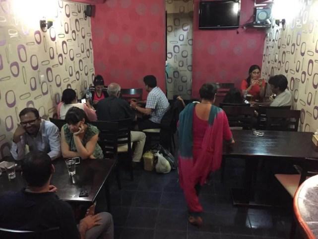 トビリシ、ゴルガサリ広場のインド料理屋【ジョージア(グルジア)Georgia:საქართველო】