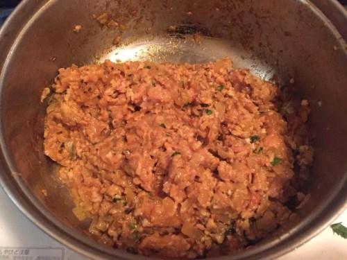 チキンキーマカレーレシピ