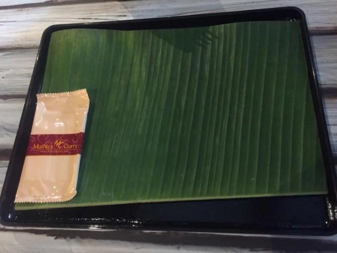 ムトゥースカリー、リトルインディア【シンガポール】