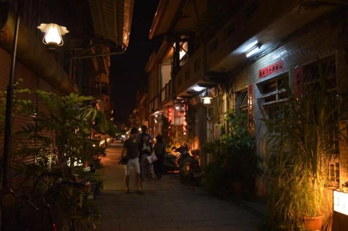 神農老街【台湾7(台南の夜)】