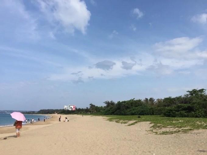 墾丁の海【台湾5(朝の墾丁の海)】