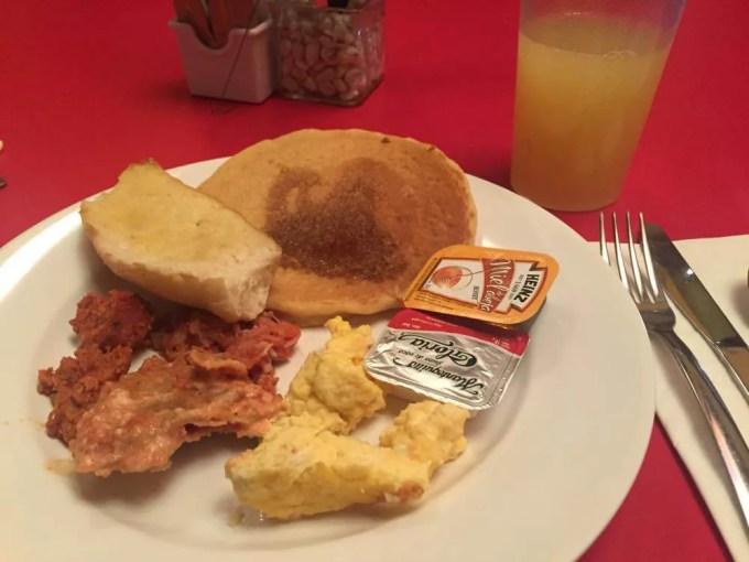 ホテルの朝食(グアナファト②朝)【メキシコ】
