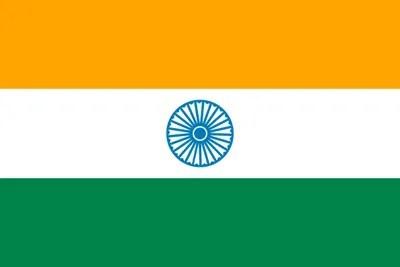 インド国旗(南インド・ケララ州1)