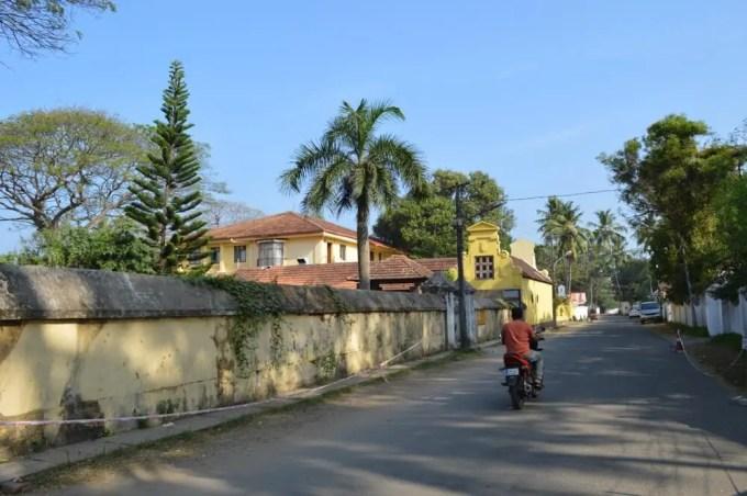 オランダ人墓地 フォートコーチン(南インド・ケララ州2)