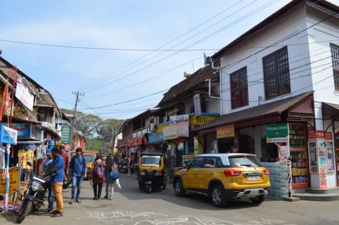 プリンセス・ストリート フォートコーチン(南インド・ケララ州2)