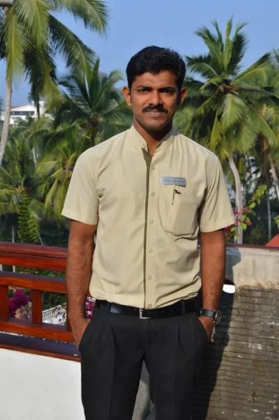 Turtle On The Beach(朝食)コヴァーラムビーチ(南インド・ケララ州11)