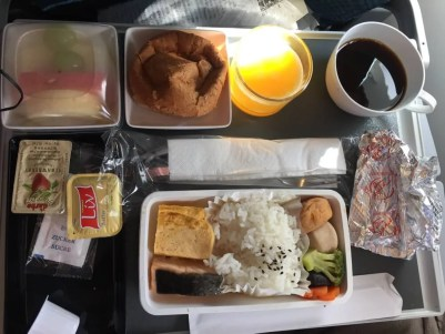 シンガポール航空機内食(南インド・ケララ州14)