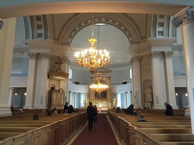 ヘルシンキ大聖堂:ヘルシンキ観光(バルト三国②)