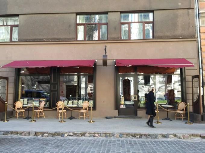 リガのカフェ&バー(カフェ・シエナ:ラトビア:リガ)