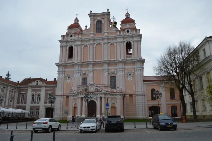 ビリニュス旧市街(バルト三国12:リトアニア:ビリニュス)