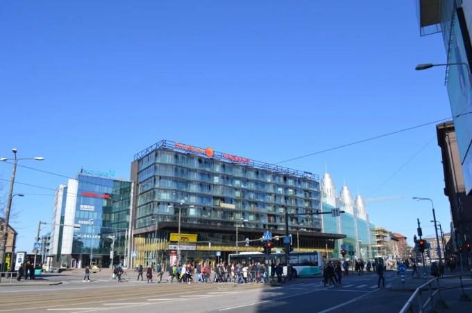 タリン新市街:タリン街歩き午後(バルト三国⑤:エストニア:タリン)