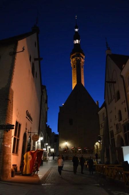 タリン旧市街:タリン街歩き午後(バルト三国⑤:エストニア:タリン