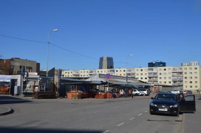 タリン中央市場(バルト三国⑥:タリン〜リガ)