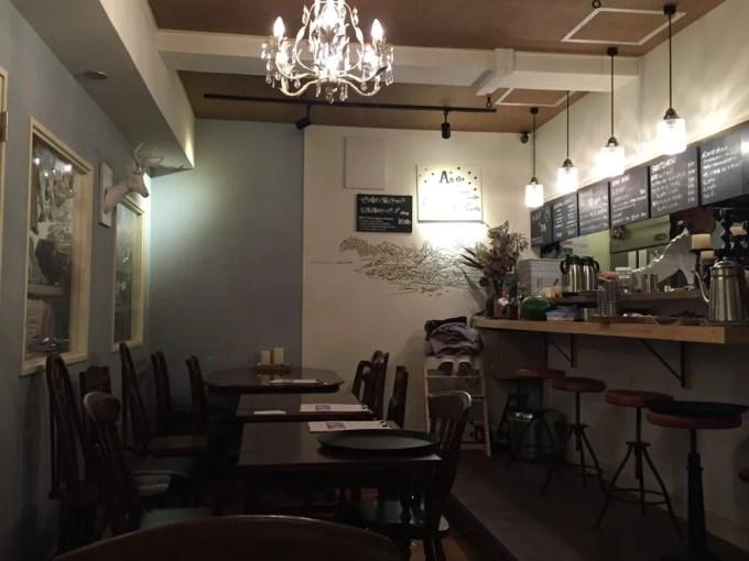 三軒茶屋、とら屋食堂