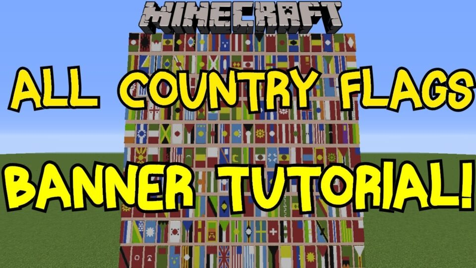 Minecraft 18 All Country Flags On Banner Tutorial 200 Diagram Of Kingda Ka Related Keywords Suggestions Youtube Excitingads