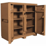 Jobmaster® Jobsite Tool Box/Cabinet, 60H, 60W, 30D, Tan KNAACK 139