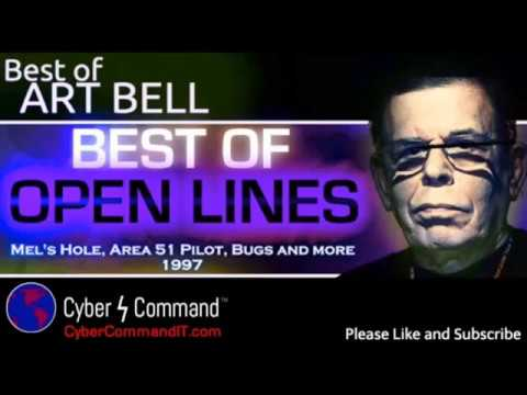 Art Bell Tribute - Open Lines Mels Hole, Area 51 Pilot, Bugs and more - YouTube