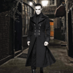 Midnight Wolf Long Coat