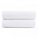 Twin Percale Fitted Sheet in White | Parachute