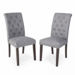 Morgana Tufted Parsons Dining Chair - Set of 2