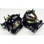Original Panasonic Lamp & Housing TwinPack for the PT-DW6300 Projector - 240 Day Warranty