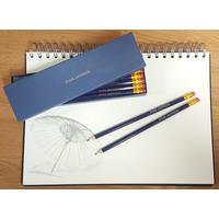 12 Blue Pencils in a Blue Box