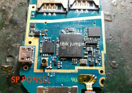 Solusi Jalur ON OFF Power Samsung Flip E1272
