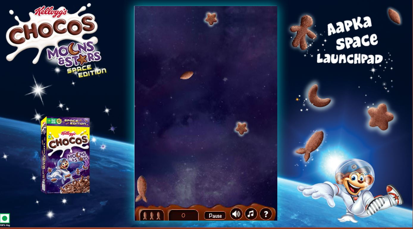 Play Free Kelloggs Chocolate Space Invaders Online Games