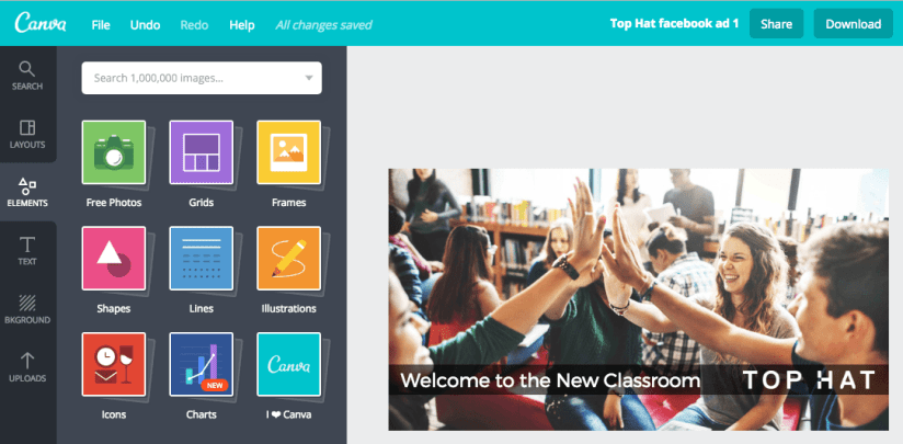Photoshop Alternative for Social Media and Blog Posts: Canva