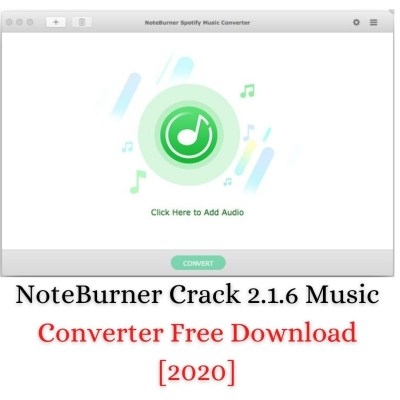 NoteBurner Crack one of the best music converter application