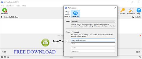 4k YouTube To MP3 License Key