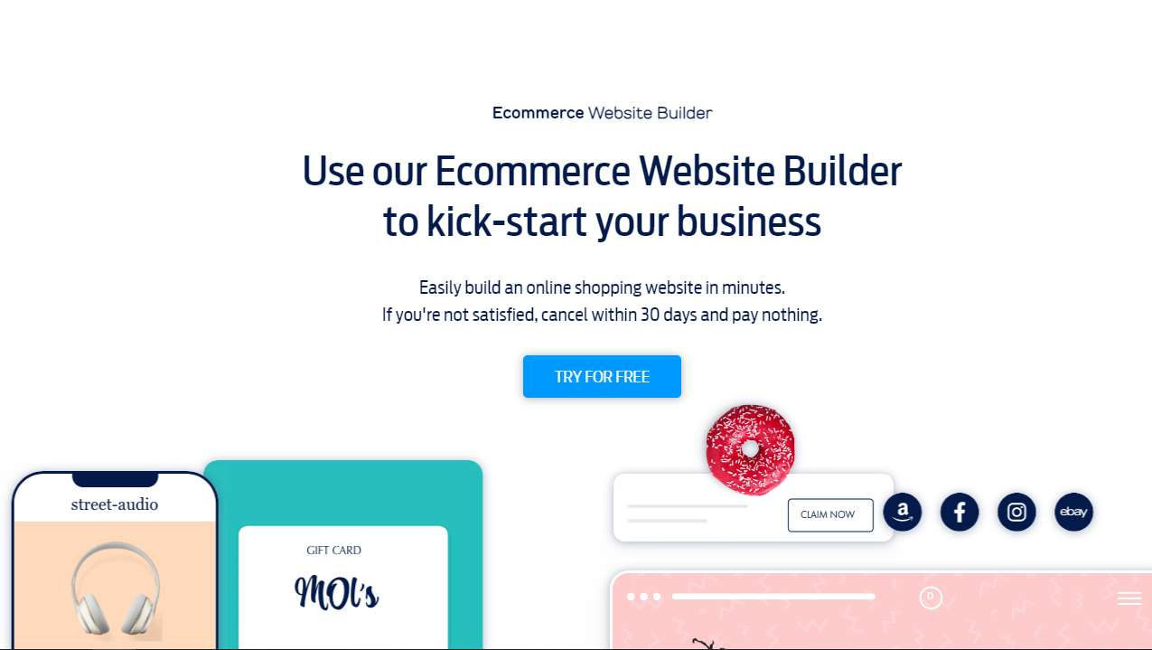 Fasthosts Introduces E-commerce Website Builder