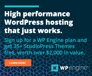 Try WP Engine Now!