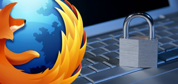 personal information security in firefox
