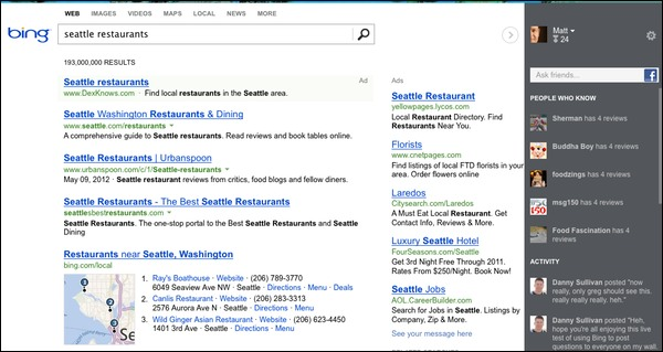 Bing's New Social-Friendly Search Interface Now Live