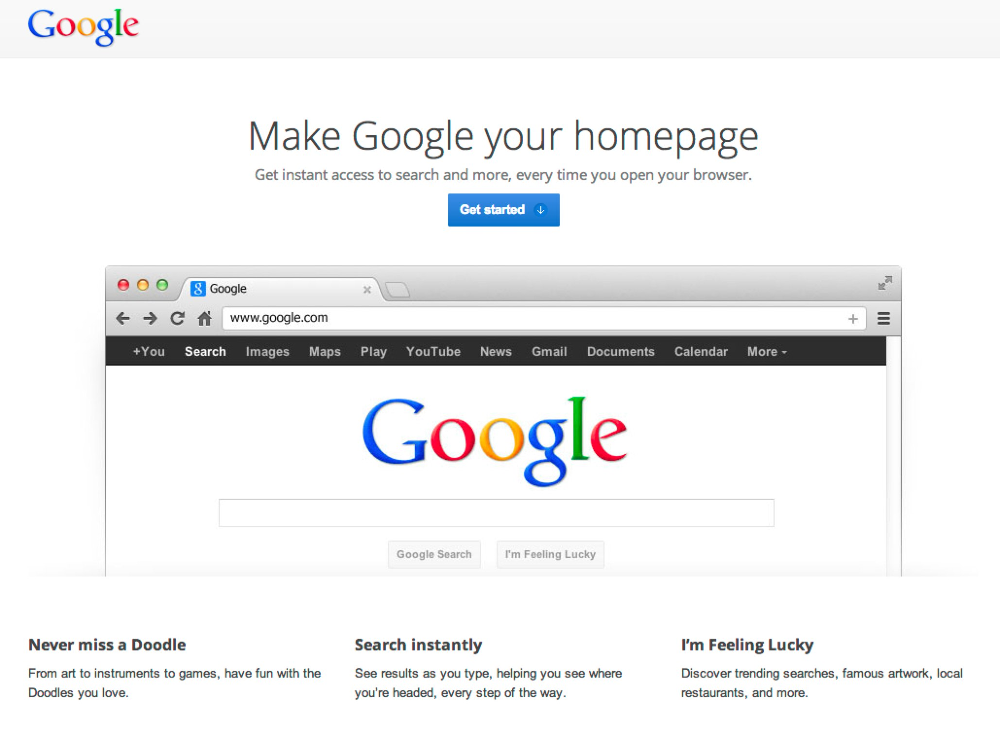 Google Ads Pitch Making Google Your Homepage  eMarketing Wall