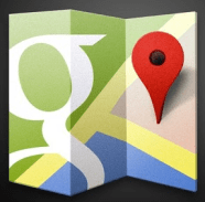 Google maps icon larger