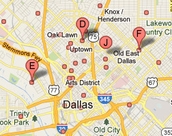How and address-less business is shown in Google Maps