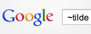 google-tilde-operator-gone
