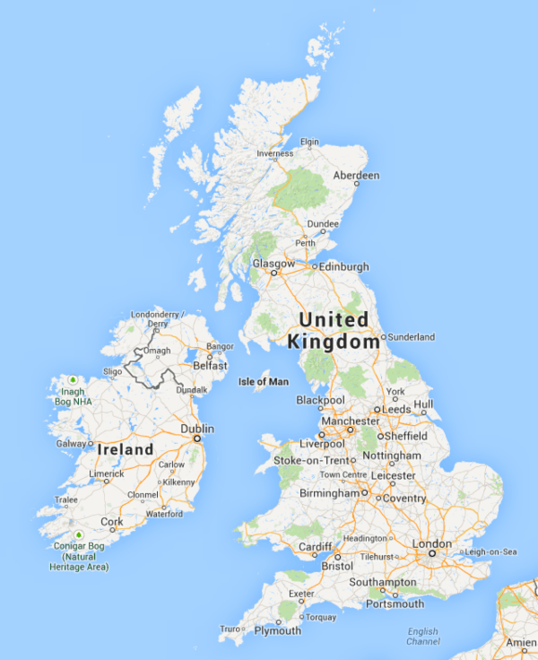 Map Of Scotland And Ireland : scotland, ireland, Google, England,, Scotland,, Wales, Northern, Ireland?