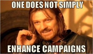 Lunametrics enhanced campaigns